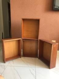 Vendo gavetas de madeira maciça