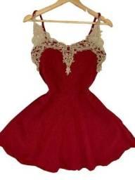 Vestido Feminino - Rodado Tule Exclusivas Moda Roupas Femininas