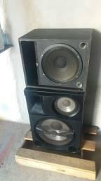 V/t 2 caixas de som potente 600$