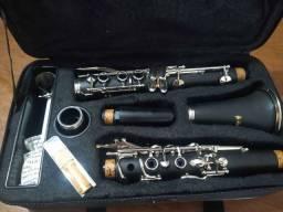Clarinete Auburn 17 chaves nova com case - Vendo ou troco por violão