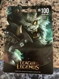 Cartão LOL 100$