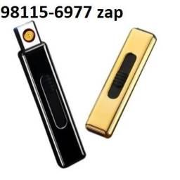Isqueiro USB Eletrônico Luatek Recarregável