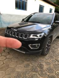 Jeep Compass Limited 20/20- flex, high tech +teto panorâmico . 10.500km