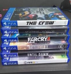TheCrew, Fifa16, Sombras de Mordor, FarCry4, Until Dawn, Battlefield 1