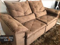 Sofa Retratil e reclinável ponta entrega