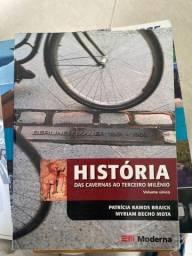 livro historia das cavernas ao terceiro milenio Volume único