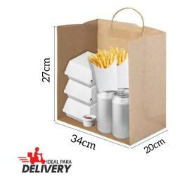 Sacola Delivery kraft / Crafit