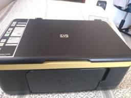 Impressora HP Deskjet+leitor de CD e DVD para PC