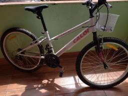 Vendo bicicleta Caloi Ceci nova sem uso aro 24 com 21 marchas