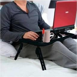 Mesa para Notebook Dobrável Com Cooler | Melhor do mercado