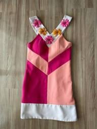 Vestido rosa da Patricia Bonaldi