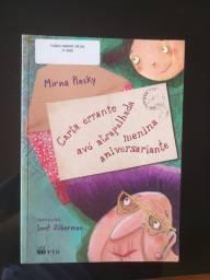 Livro Carta errante vão atrapalhada menina aniversariante (ISBN *0541)