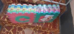 Tapete infantil abecedário em e.v.a-novo,  na embalagem.