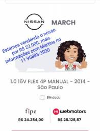 March Nissan 2014 1.0 manual
