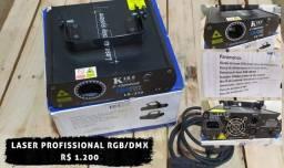 Laser proffisional RGB/DMX