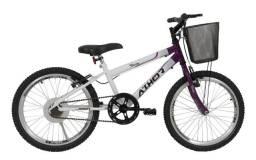 Título do anúncio: Bicicleta . Aro 20 Feminina. TOP c- cestao charmy violeta athor 4025 R$: 699,00
