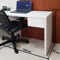 Mesa de Escritório MDF Branca