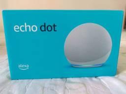 Echo Dot 4ª Geração Com Alexa - Cor Branco.