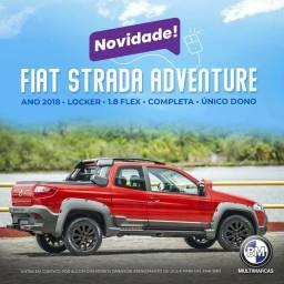 Fiat Strada Cab.Dupla Adventure Loocker 2018 1.8 Flex Completo IMPECÁVEL