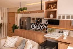 Apartamento com 3 dormitórios à venda, 68 m² por R$ 310.000,00 - Rodoviário - Goiânia/GO