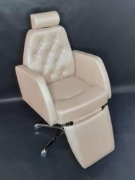 Cadeira para salão, hidráulica e reclinável. Nova com garantia