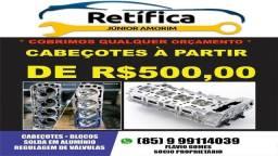 Cabeçote(FOZ)  1600/Apollo/Amarok/Brasília/Fox/Fusca/Gol/Golf/Jetta/Karmann Ghia