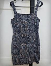 Vestido Hollister (azul marinho)