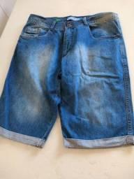 Bermuda jeans masculina número 44