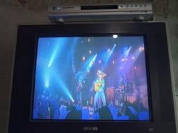 Tv e dvd 120 reais