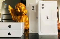 iPhone 11 64 GB Branco (lacrado, nota, passa cartão)