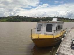 Barco com cozinha e banheiro (único a venda na região)