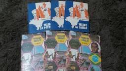 6 livros de pesquisa escolar - 2 reais cada!