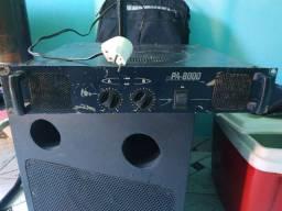 Amplificador PA 8000 Staner