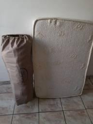 Berço camping Borigotto + colchão R$ 300,00