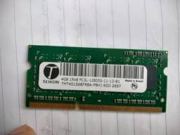 Kit HD 500GB e Memoria 4gbDDr3