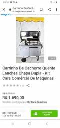 Vendo carrinho de hot dog/ novíssimo/ usado  3x