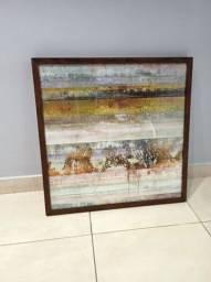 Quadro Abstrato 63x63cm