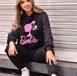 Conjunto Feminino Moletom Abrigo Moda Blogueira
