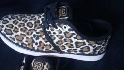 Tênis Hocks Del Mar Leopard - novo