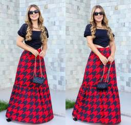 Conjunto de saia longa