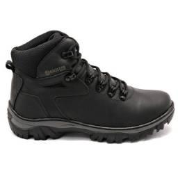 Bota Acrox Preto Ragless Boots Masculina
