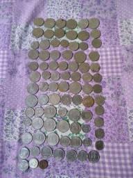 Vendo moedas antigas algumas raras.