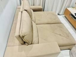 Sofá lindo e grande