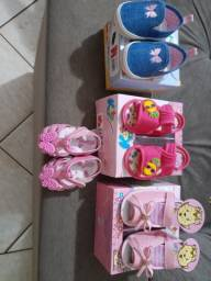 Calçados infantil a partir de 20$