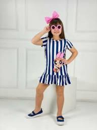 Conjunto e vestidos infantil