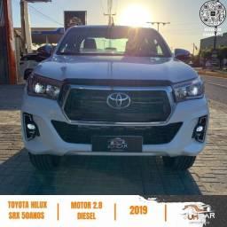 Título do anúncio: Toyota Hilux - SRX - Edição Especial 50 Anos - 2019 - Branca