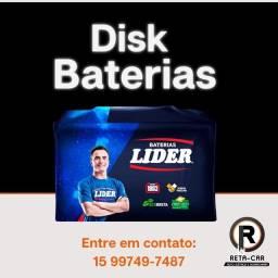 Título do anúncio: Baterias Líder Automotivas / Disk Entrega -Sorocaba e Votorantim / Vila Barão