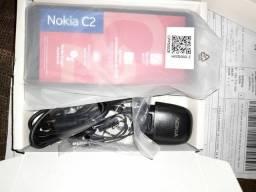 Smartphone Nokia c2 no 010 preto