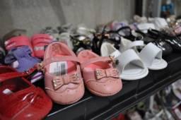 Sapatos de bebe, infantil (estoque de brechó)