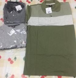 Camisas masculinas variadas